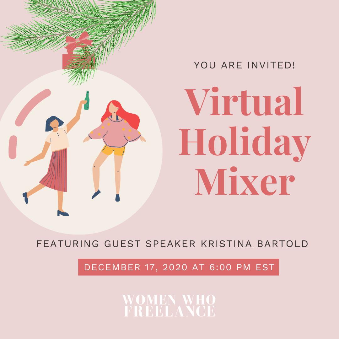 Virtual Holiday Mixer