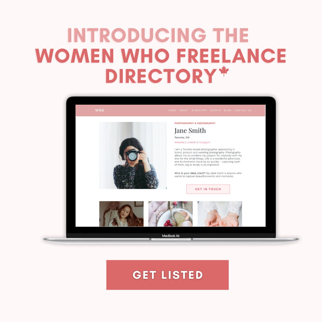 Join The Women Who Freelance Directory