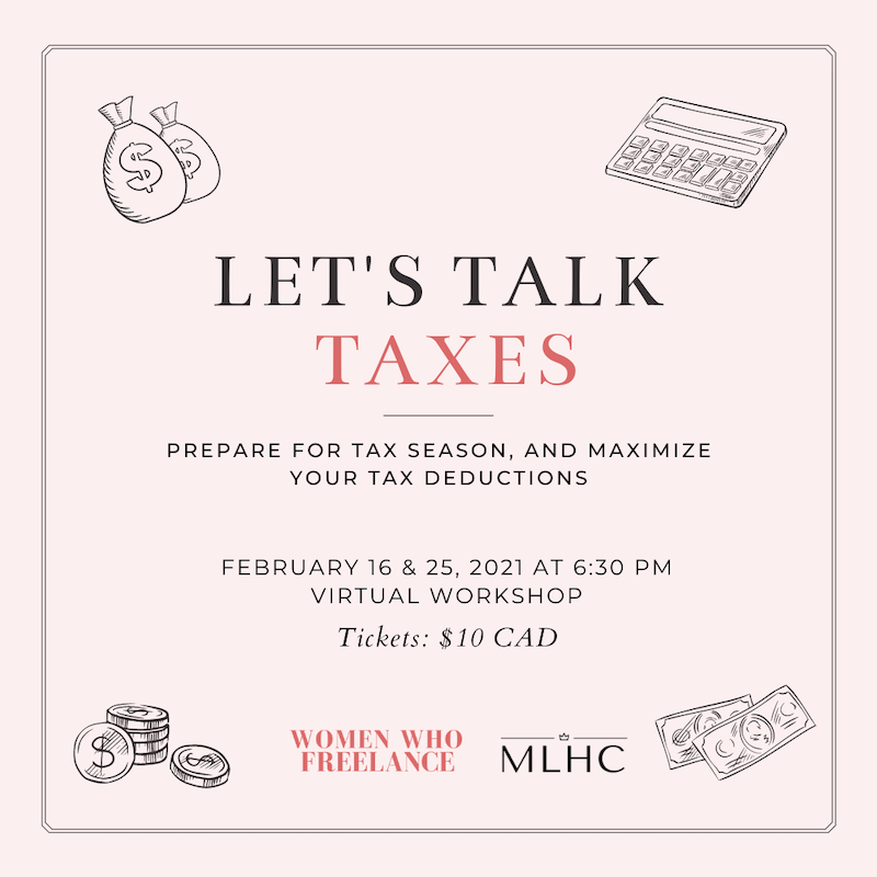 Let's Talk Taxes: MLHC x Women Who Freelance